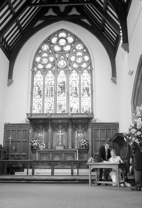 Holy Trinity Aldershot wedding photos - Bill Sykes 2